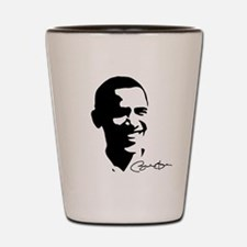 Obama Autographed: Shot Glass