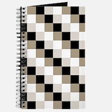 Beige Checks Design Journal