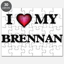 I love Brennan Puzzle