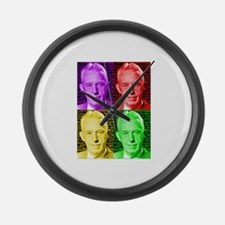 Warhol-esque Bill Large Wall Clock