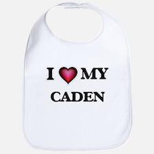 I love Caden Baby Bib