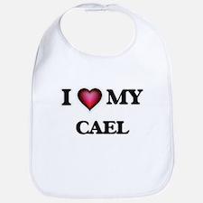 I love Cael Baby Bib