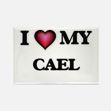 I love Cael Magnets