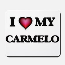 I love Carmelo Mousepad