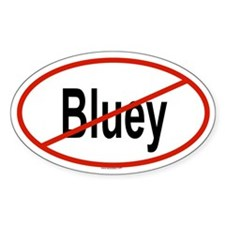 BLUEY Oval Decal