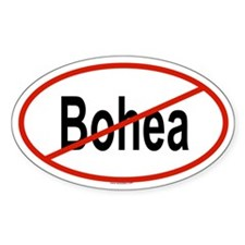 BOHEA Oval Decal