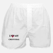 I love Cristobal Boxer Shorts