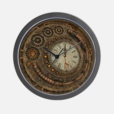 Steampunk, awesome clock Wall Clock