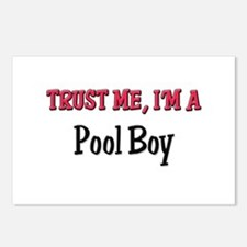 Trust Me I'm a Pool Boy Postcards (Package of 8)