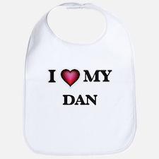 I love Dan Baby Bib