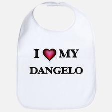 I love Dangelo Baby Bib