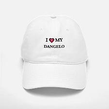 I love Dangelo Baseball Baseball Cap