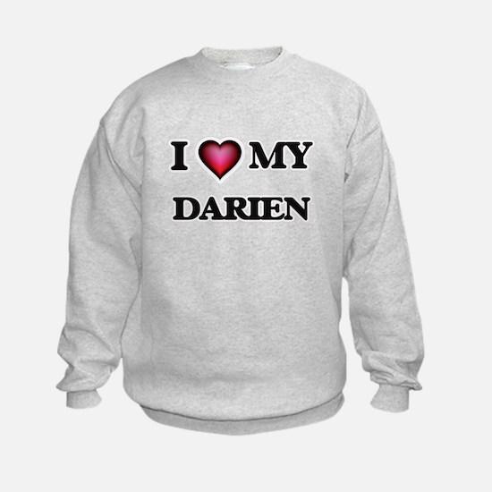 I love Darien Sweatshirt