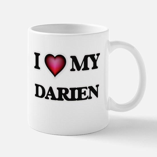 I love Darien Mugs