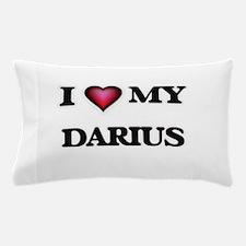 I love Darius Pillow Case