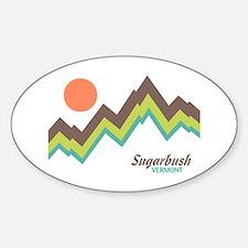 Sugarbush Vermont Sticker (Oval)