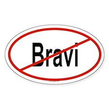 BRAVI Oval Decal