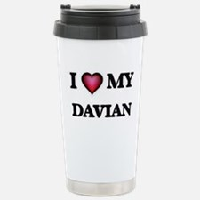 I love Davian Travel Mug