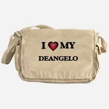 I love Deangelo Messenger Bag