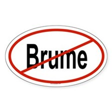 BRUME Oval Decal
