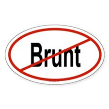 BRUNT Oval Decal