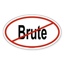 BRUTE Oval Decal