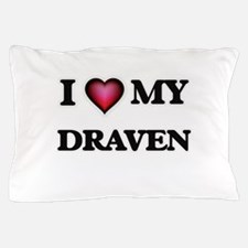 I love Draven Pillow Case