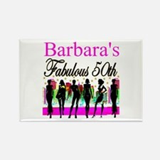 FABULOUS 50TH Rectangle Magnet