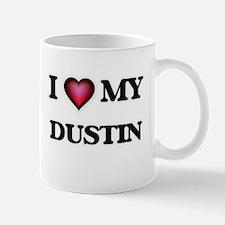 I love Dustin Mugs