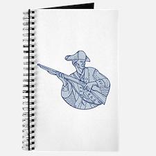 American Patriot Minuteman Rifle Mono Line Journal
