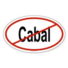 CABAL Oval Decal