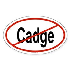 CADGE Oval Decal