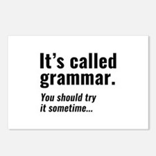 It's Called Grammar Postcards (Package of 8)