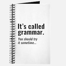 It's Called Grammar Journal