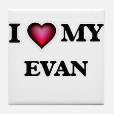 I love Evan Tile Coaster