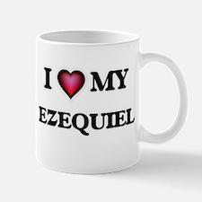 I love Ezequiel Mugs