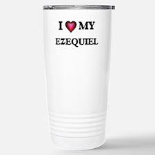 I love Ezequiel Travel Mug