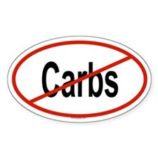 CARBS Oval Decal