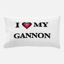 I love Gannon Pillow Case