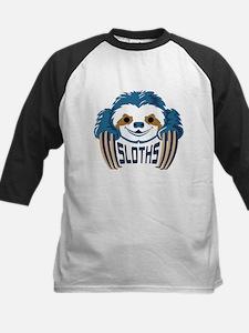 Sloths Blue Baseball Jersey
