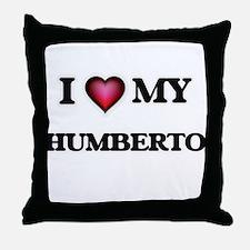 I love Humberto Throw Pillow