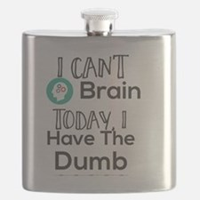 Cute Border Flask