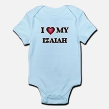 I love Izaiah Body Suit