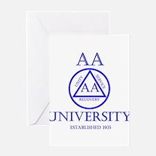 AA University Greeting Cards