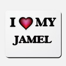 I love Jamel Mousepad