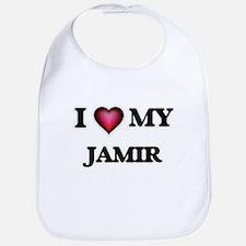 I love Jamir Baby Bib