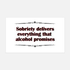 sobriety-delivers.png Wall Decal