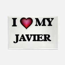 I love Javier Magnets
