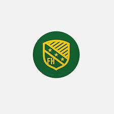 Farmhouse Fraternity Yellow Crest Mini Button