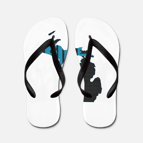 Bike Michigan Flip Flops